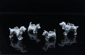 Серебряные кулоны