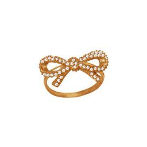 Золотое кольцо бант