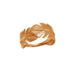 Кольцо в форме перьев