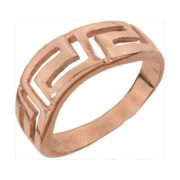 Кольцо с греческим узором